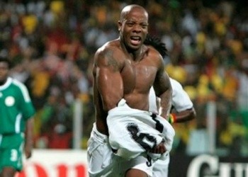 Junior Agogo scored 113 goals in 350 games for club side