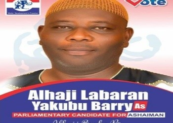 Mr. Yakubu Barry, is a parliamentary candidate aspirant on the ticket of the NPP