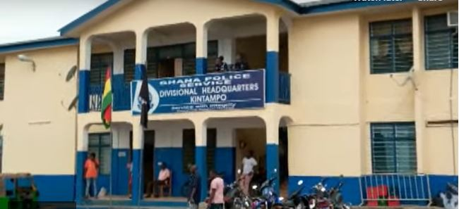 FIle Photo: Kintampo Divisional Headquarters of the Ghana Police Service