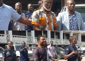 The three suspects were arraigned before the Kaneshie District Court Tuesday