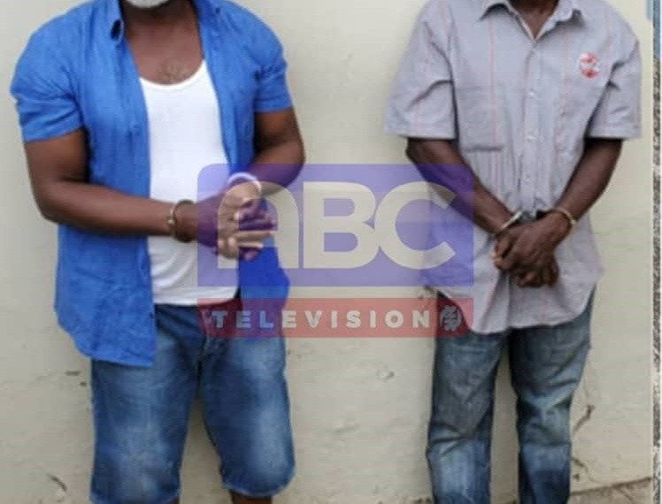 Two of the three alleged coup plotters initially arrested by the security agencies