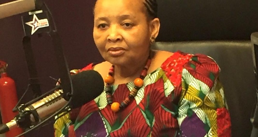 Lulu Xingwana , South African High Commissioner to Ghana