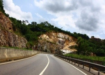 File photo of Aburi road