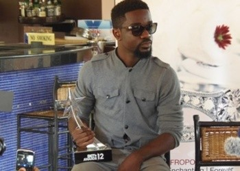 Sarkodie won the Best International Act (Africa) at BET 2012 Awards