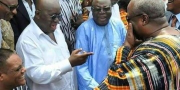 File photo of President Akufo-Addo and Former President John Dramani Mahama