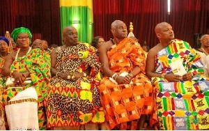 File photo: Some members of the National House of Chiefs