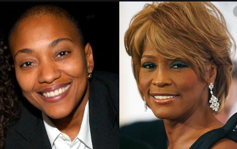 Robyn Crawford (l) and Whitney Houston (r) never made known the details of their 'amorous' relationship