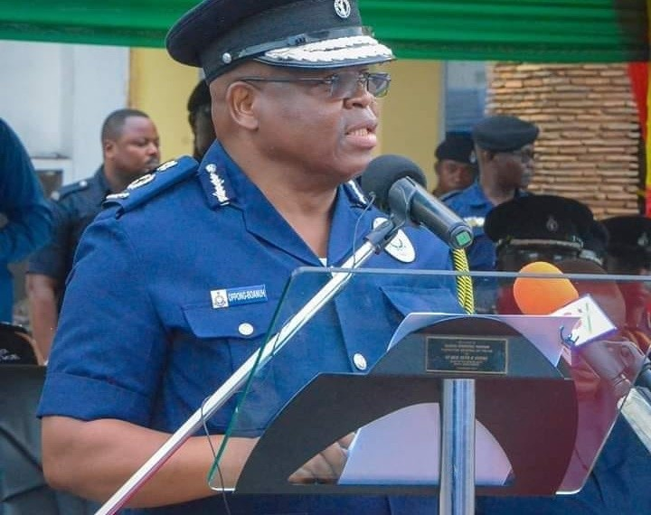 IGP James Oppong Boanuh