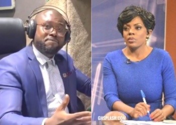 Abeiku Santana (L) and Nana Aba Anamoah are both media personalities