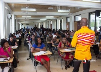File photo: Students of Ghana Institute of Journalism during a seminar
