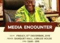 President Akufo-Addo will engage the media for the first time this year
