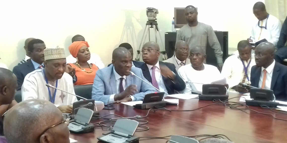 File photo: Some members of the minority in Parliament