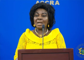 Cecilia Abena Dapaah, Minister for Sanitation and Water Resources