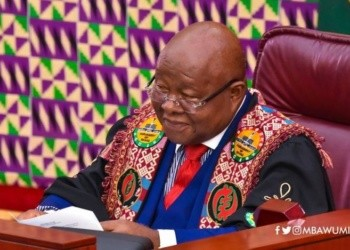 Prof Aaron Mike Oquaye, Speaker of Parliament